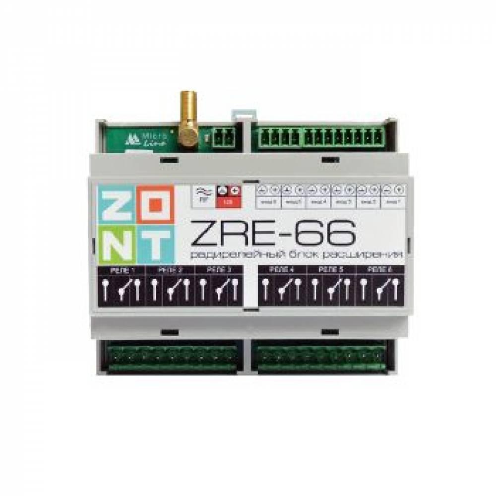 Zont zre-66 блок расширения для контроллера zont h2000+