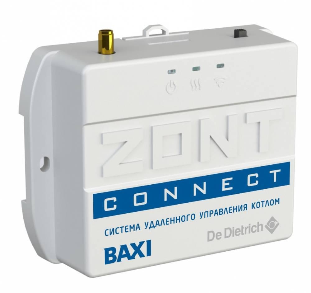 Gsm термостат для газовых котлов baxi zont connect