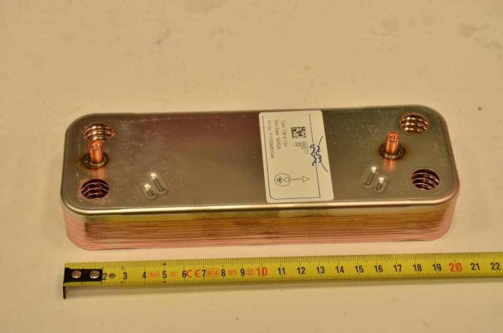Теплообменник ГВС на 12 пластин Baxi