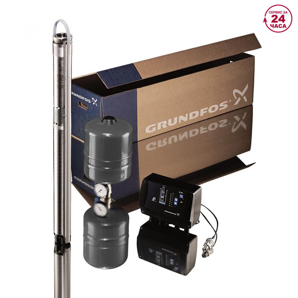 Комплект для поддержания постоянного давления с насосом sqe 2 - 85 с кабелем 60 м