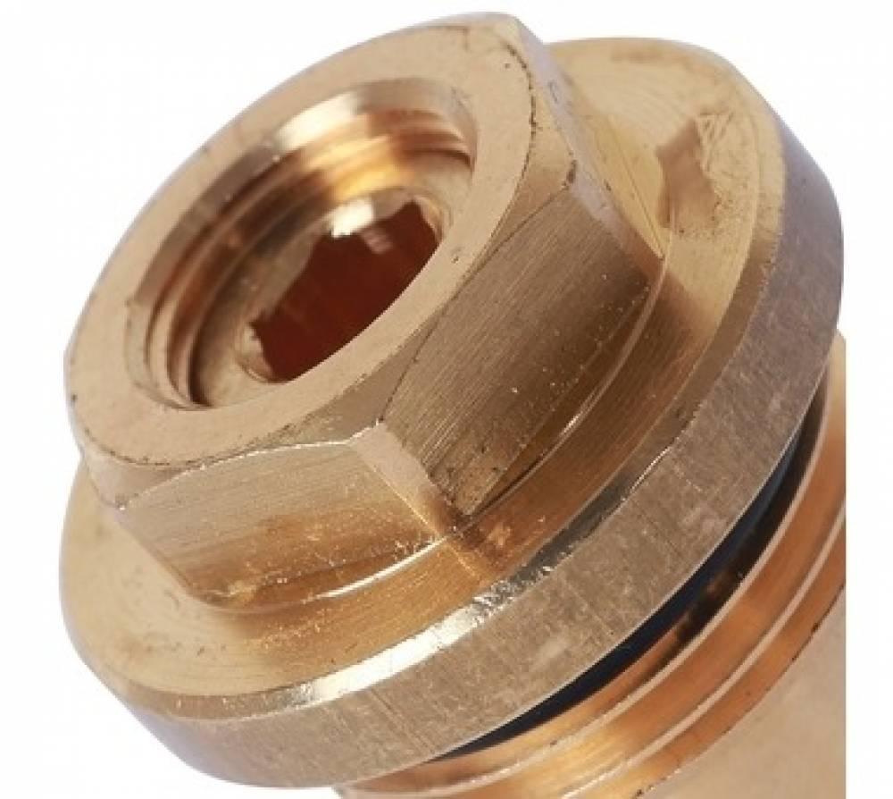 Запорно-балансировочный клапан для коллекторов из нержавеющей стали