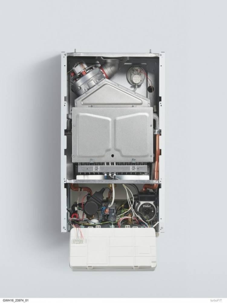 Настенный двухконтурный газовый котёл VUW 242/5-2 turboFIT