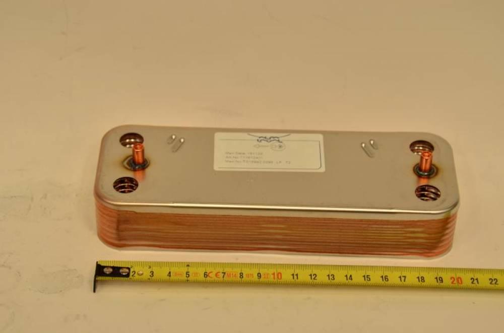 Теплообменник ГВС на 14 пластин Baxi