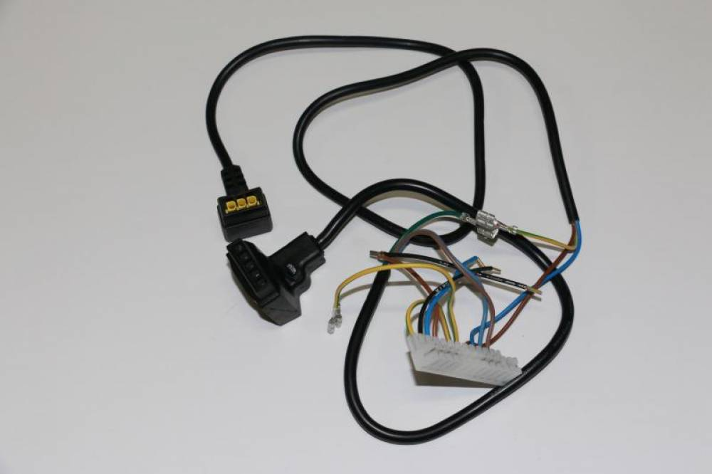 Проводка электрическая (от разъема платы Х3 к клеммной колодке, насосу и газ.клапану) Baxi