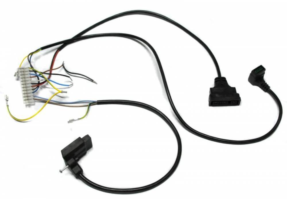 Проводка электрическая (от разъема платы Х3 к клеммной колодке, трехходовому клапану, насосу, газ. Клапану Honeywell)