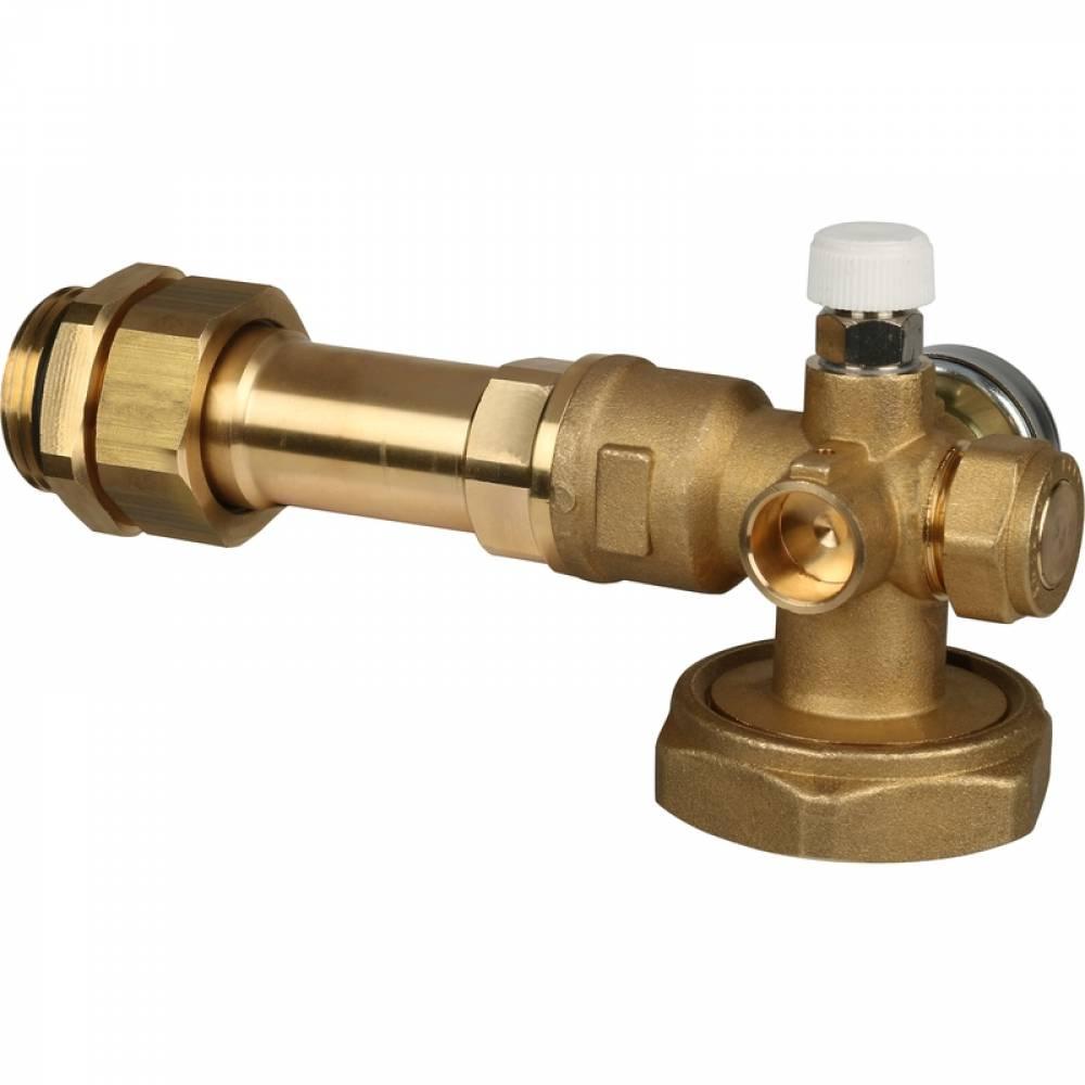 Насосно-смесительный узел с термостатическим клапаном 20-43°C, без насоса