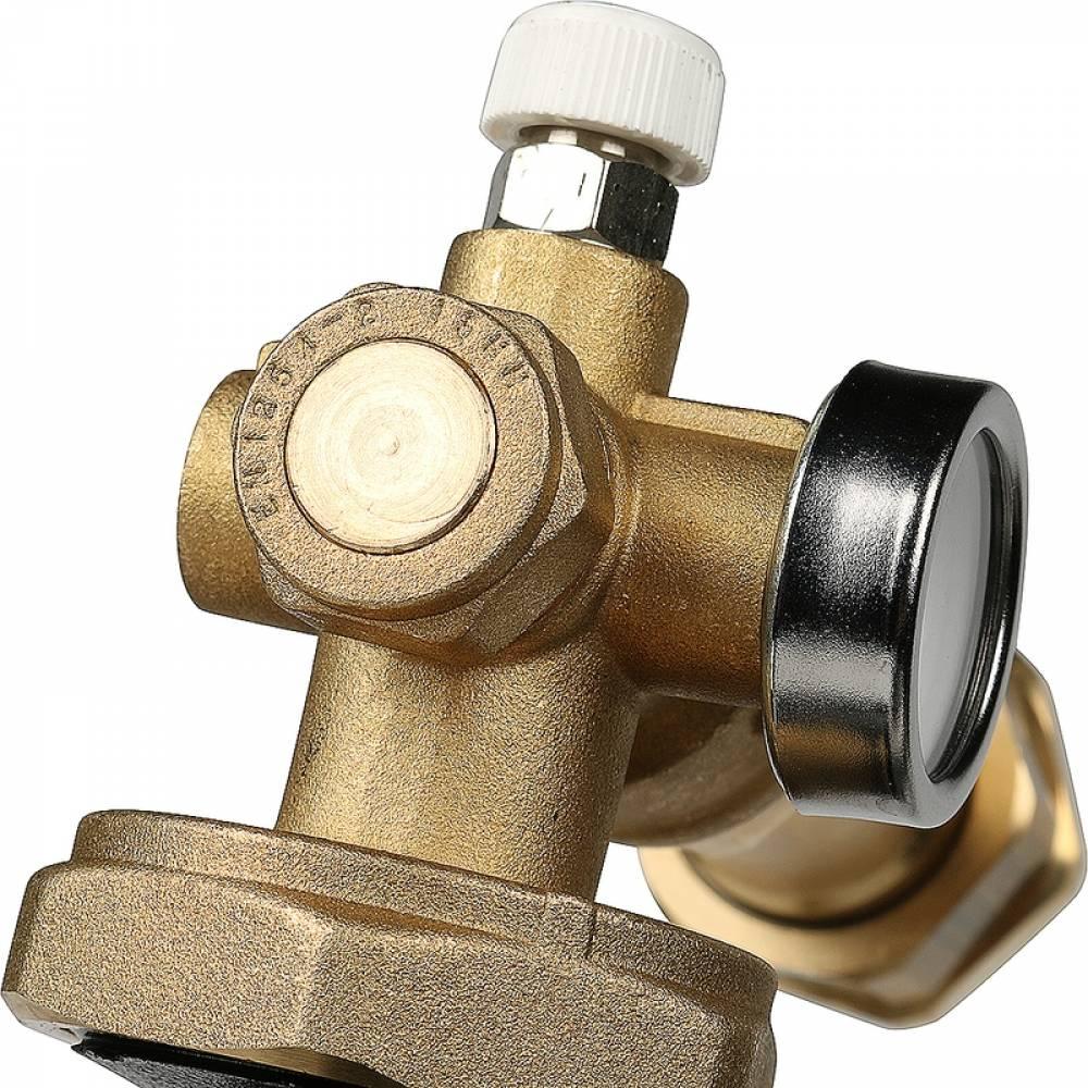 Насосно-смесительный узел с термостатическим клапаном 20-43°C, с насосом