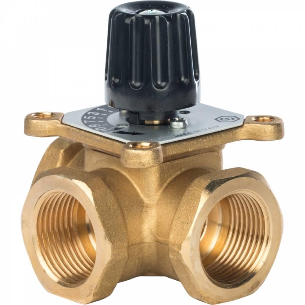 3-х ходовой смесительный клапан 1
