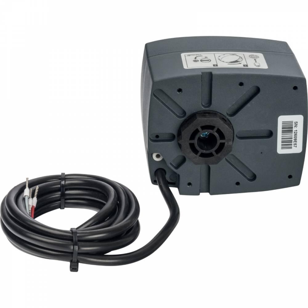 Сервопривод для смесительных клапанов, ход 90°, для пропорциональной регулировки, AC 24V время 60-90-120s, DC 0-10V