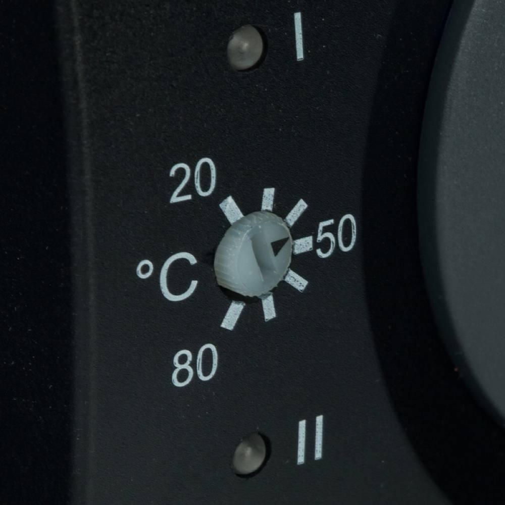 Сервопривод для смесительных клапанов с датчиком для фиксированной регулировки температуры, AC 230V 135s