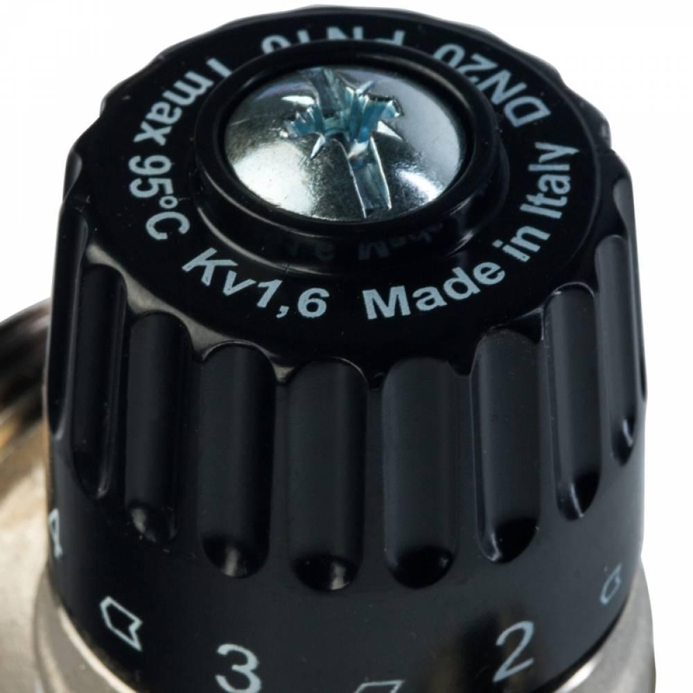"""Термостатический смесительный клапан для систем отопления и гвс. 1"""" нр    20-43°с kv 1,6 м3/ч"""