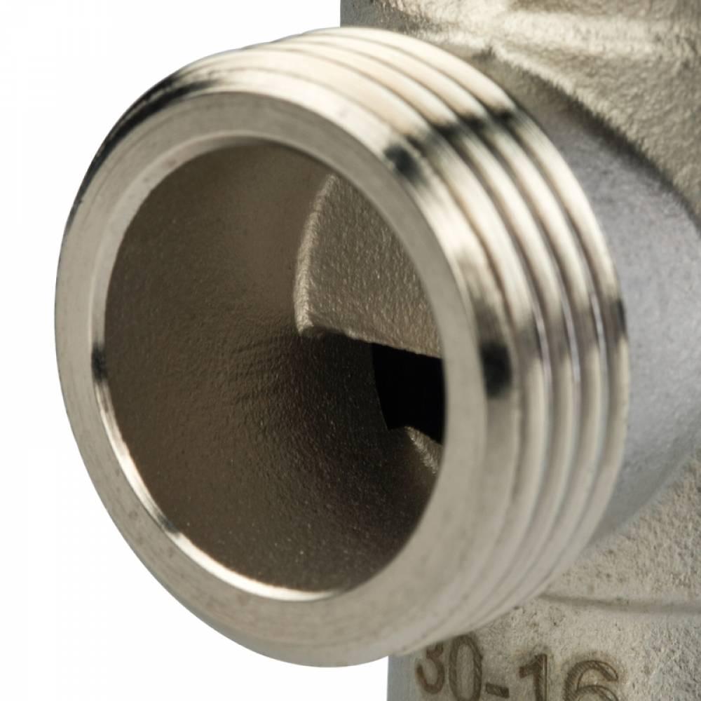 """Термостатический смесительный клапан для систем отопления и ГВС. 1"""" НР    20-43°С KV 2,5 м3/ч"""