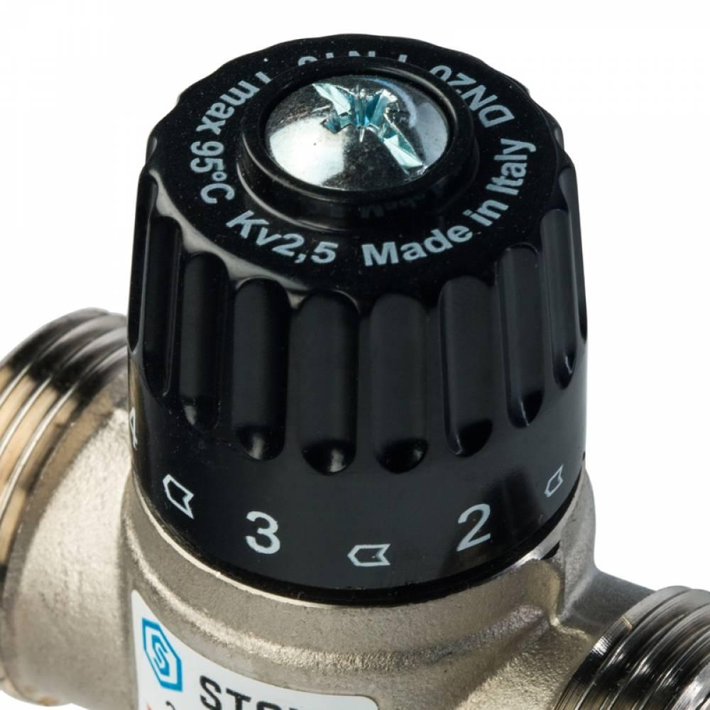 Термостатический смесительный клапан для ситем отопления и ГВС 1