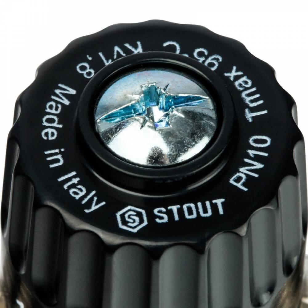 Термостатический смесительный клапан для систем отопления и ГВС 3/4