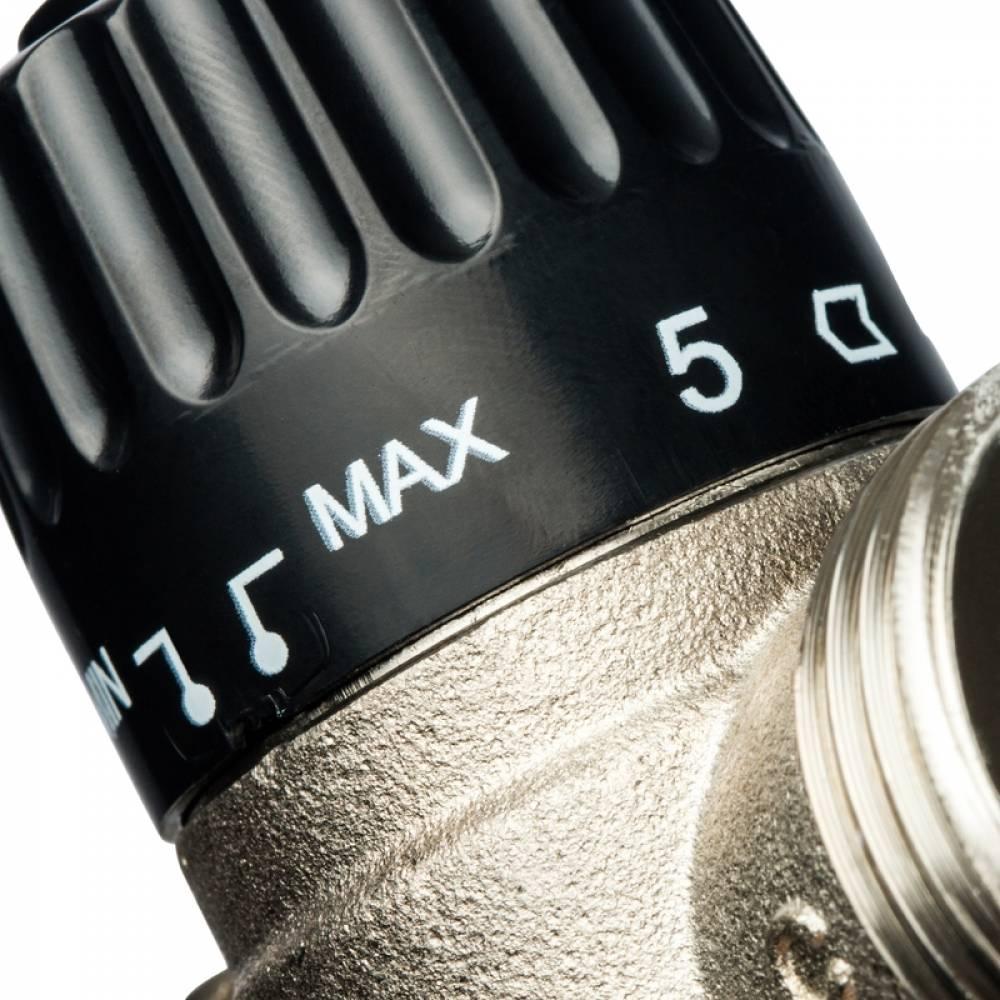 Термостатический смесительный клапан для систем отопления и ГВС 1