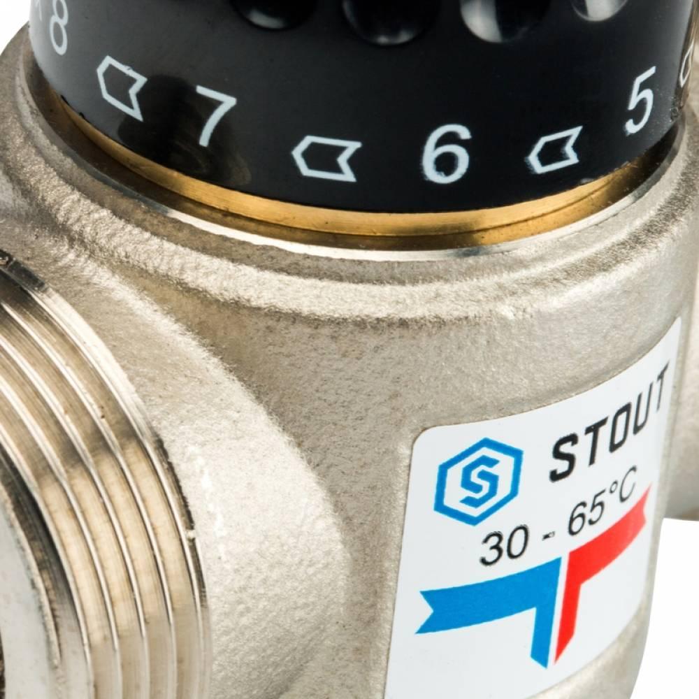 Термостатический смесительный клапан для систем отопления и ГВС 1 1/4