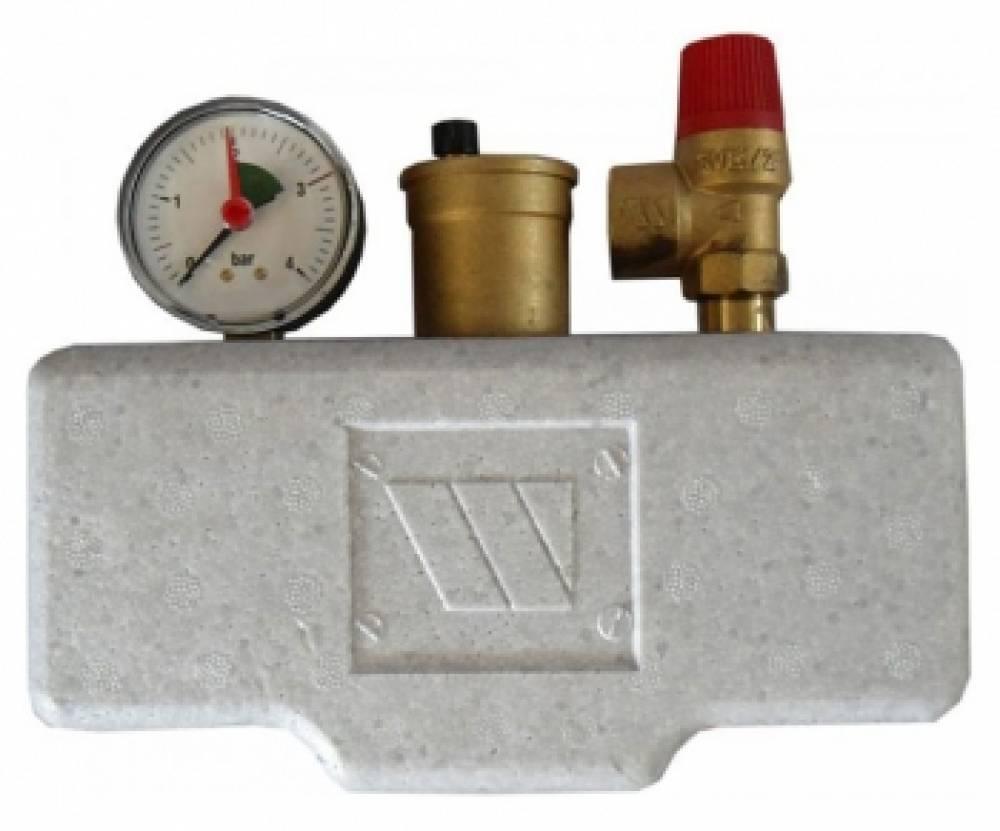 Группа безопасности котла  (до 50 кВт) (в теплоизоляции)