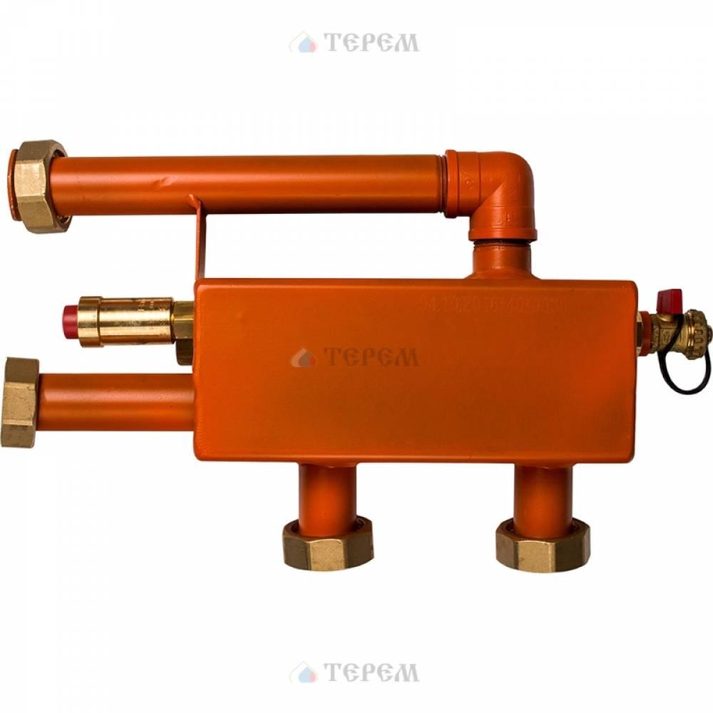 Гидравлическая стрелка 25 (2 м3/час, 60 кВт при ΔТ=25 °С), DN 25
