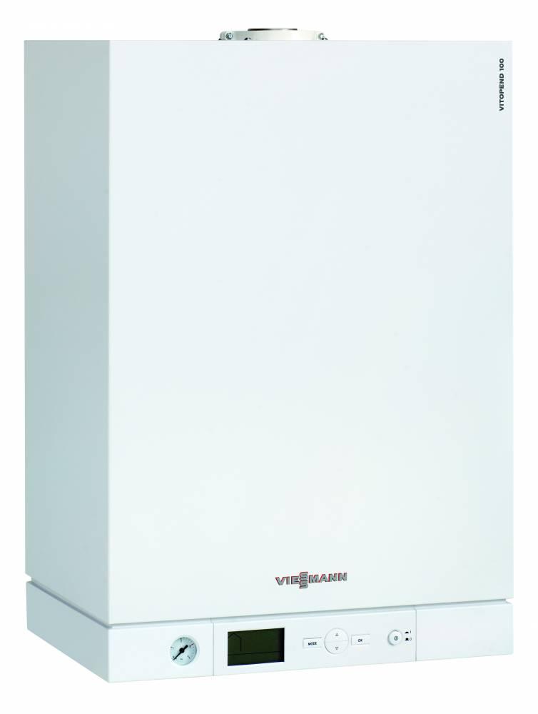 Настенный газовый котел Viessmann Vitopend 100 W тип A1HB003 34 кВт, одноконтурный, закр.камера