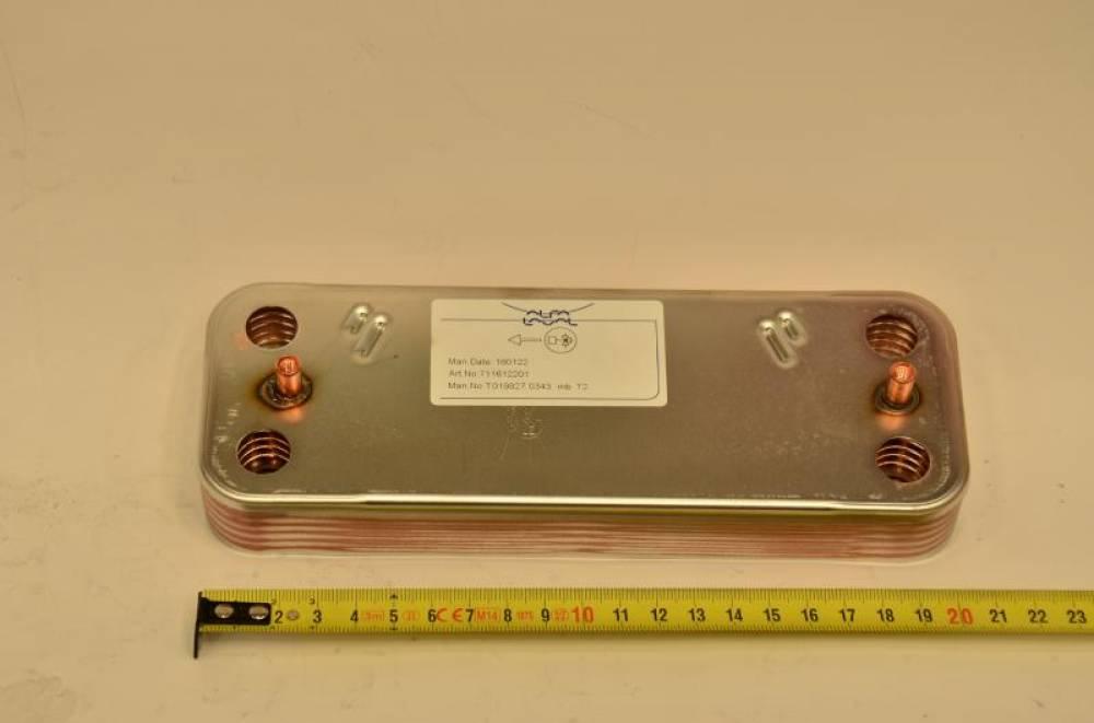 Теплообменник ГВС на 10 пластин Baxi