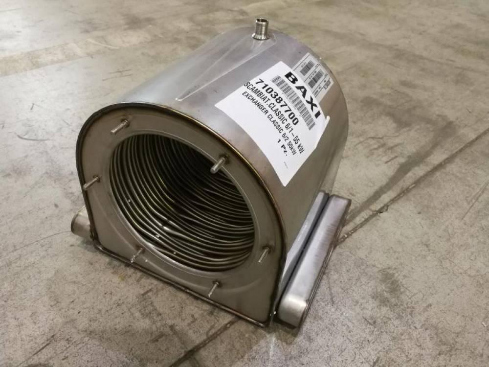 Теплообменник основной CLASSIC 6/1-55 Kw Baxi