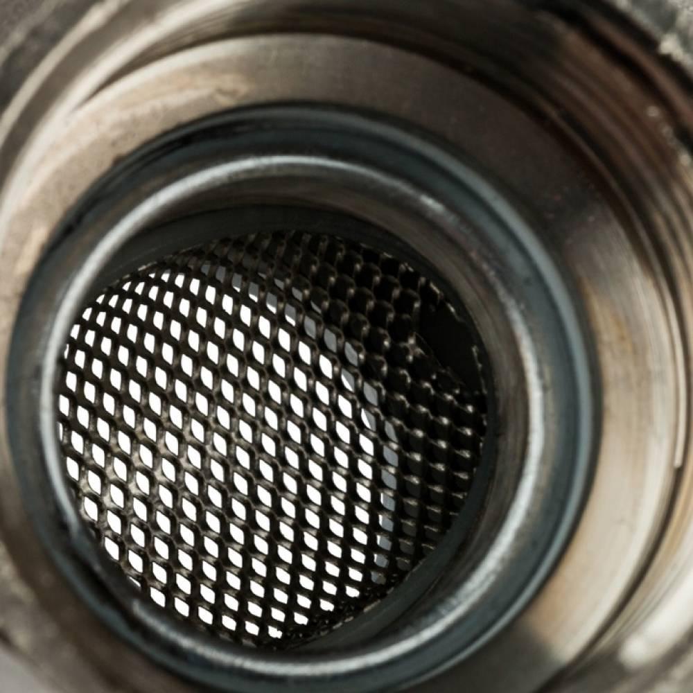 Кран шаровой с фильтром 1