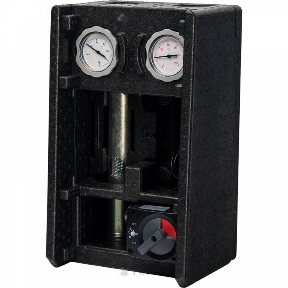 Насосная группа MK смесительная с электронным термостатом и реле без насоса, 1