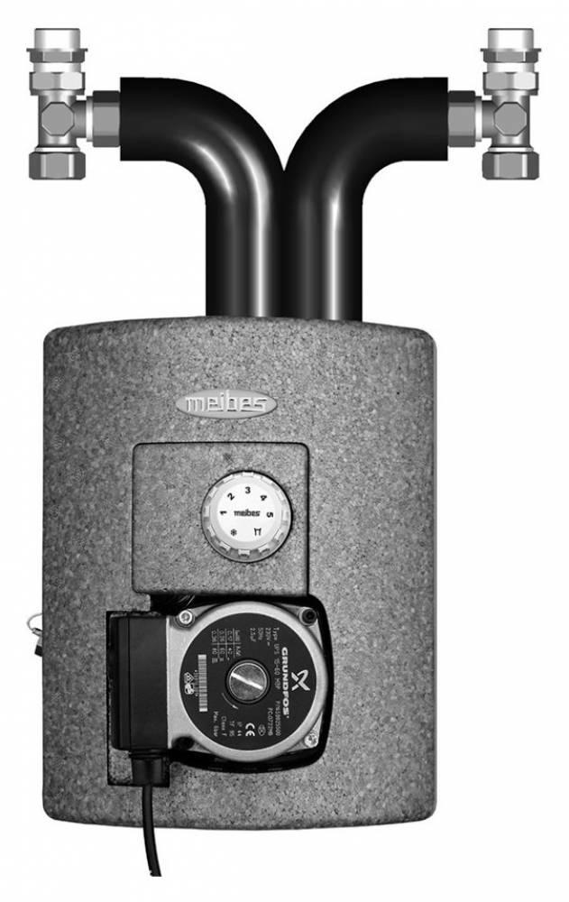 Thermix с электрическим сервоприводом, с насосом UPS Alpha 2 15-60
