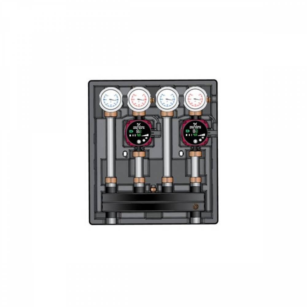 Насосно-смесительный модуль Kombimix 2 UK_Wilo Para 15/6 RKC