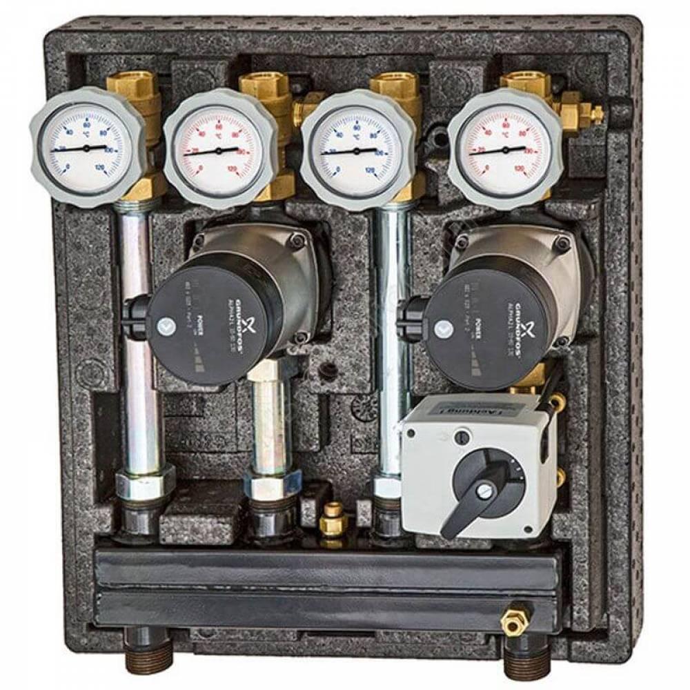 Насосно-смесительный модуль Kombimix UK_MKST_Wilo Yonos Para 15/6 RKC