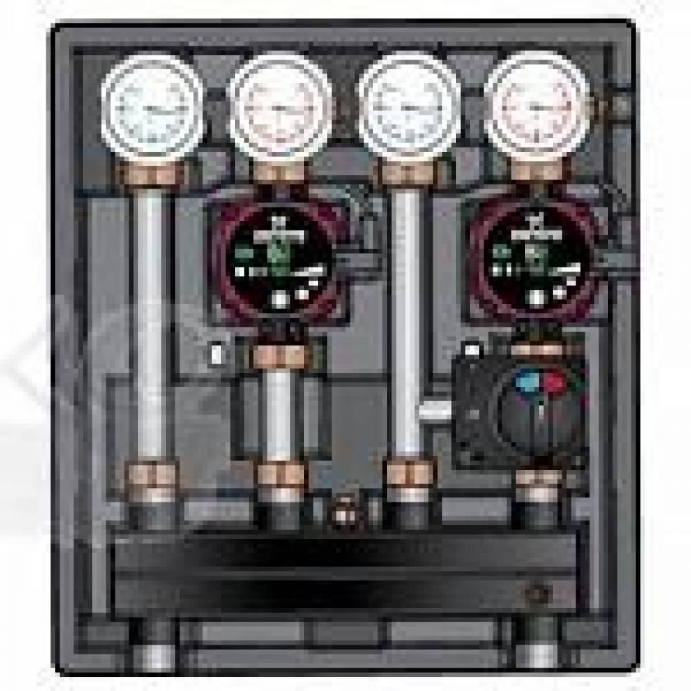 Насосно-смесительный модуль Kombimix UK_MKSTM_UPM3 Hybrid 15-70*