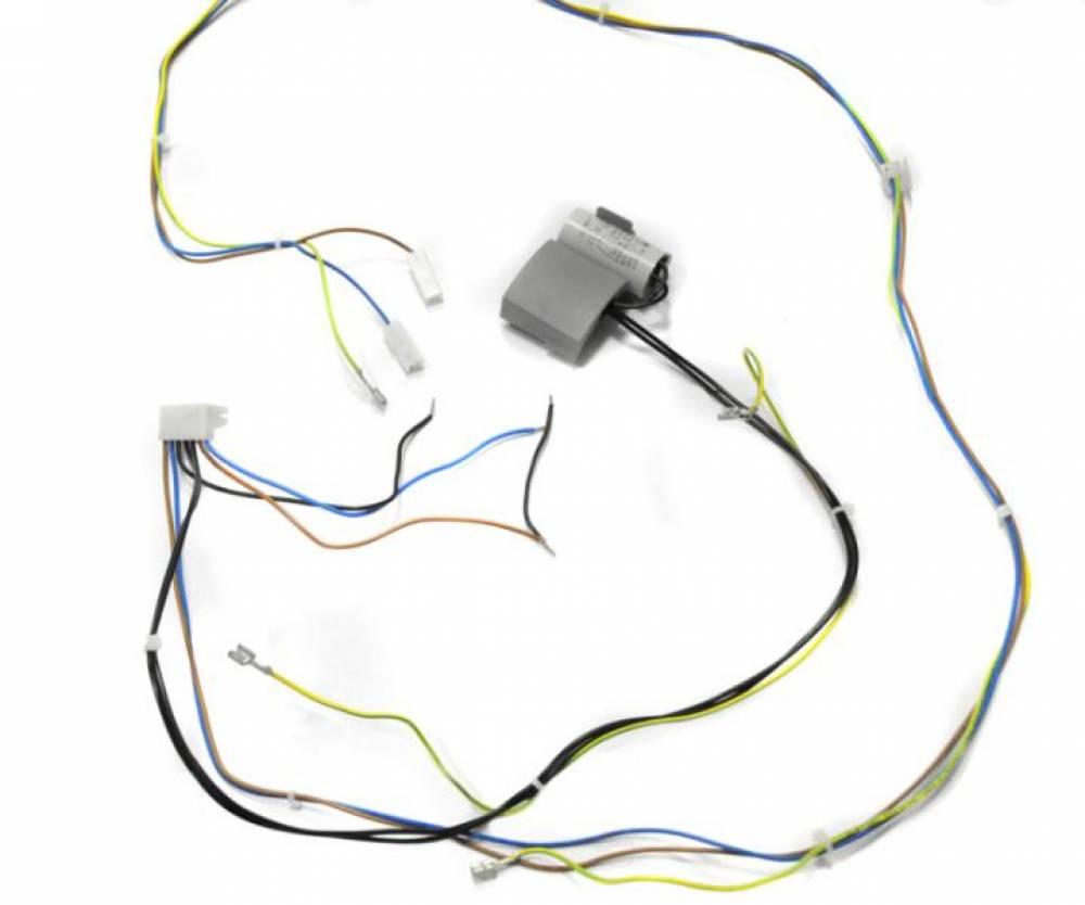 Проводка электрическая высоковольтная(Разъем платы Х2 - к насосу, вентилятору, питающие провода)