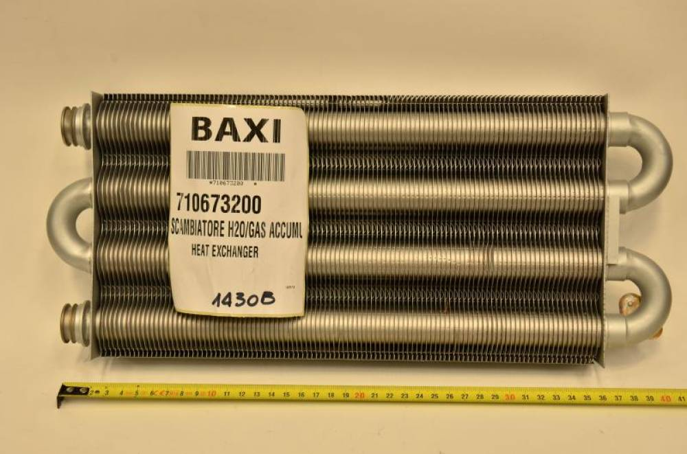 Теплообменник основной Baxi