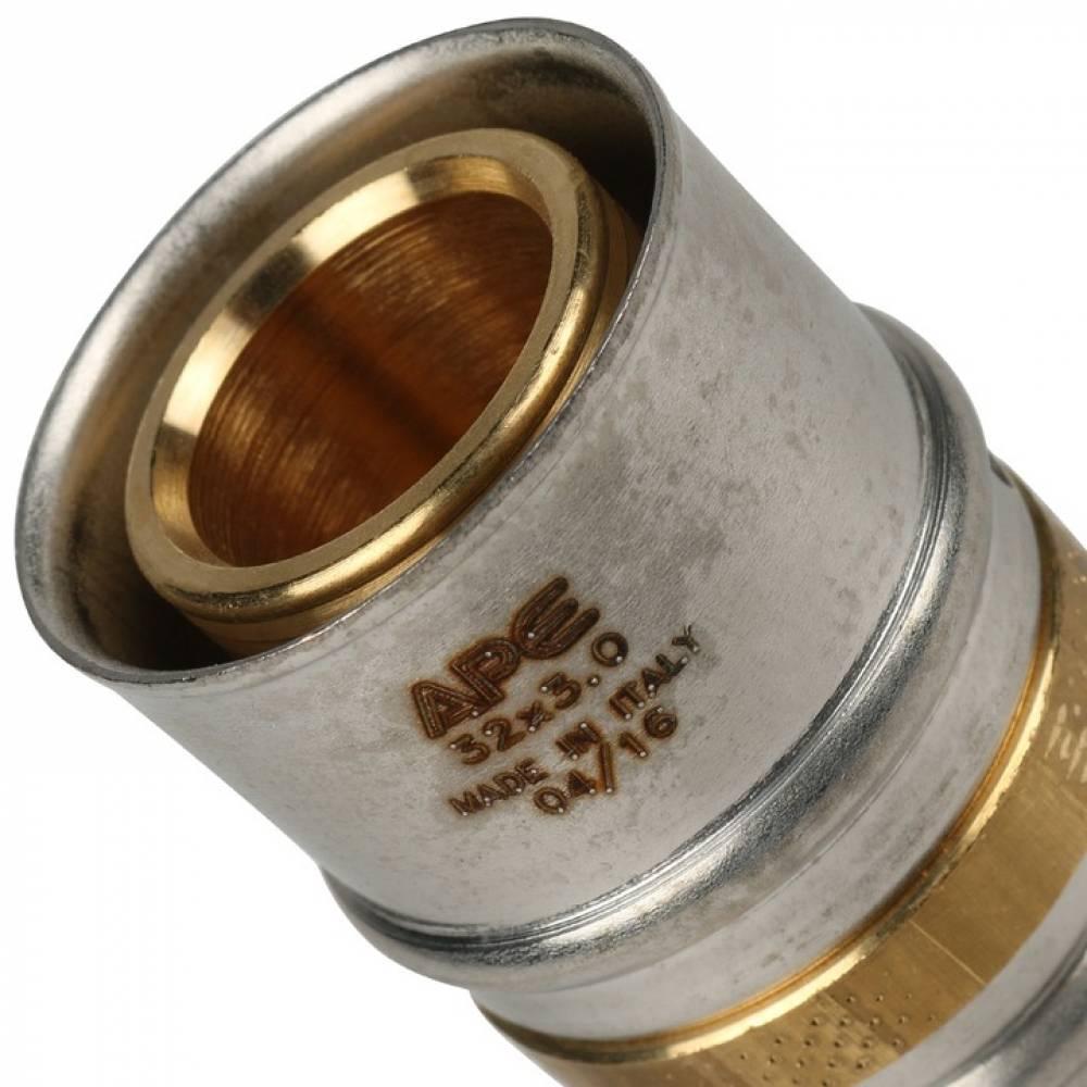Муфта соединительная переходная 32х26 для металлопластиковых труб прессовой