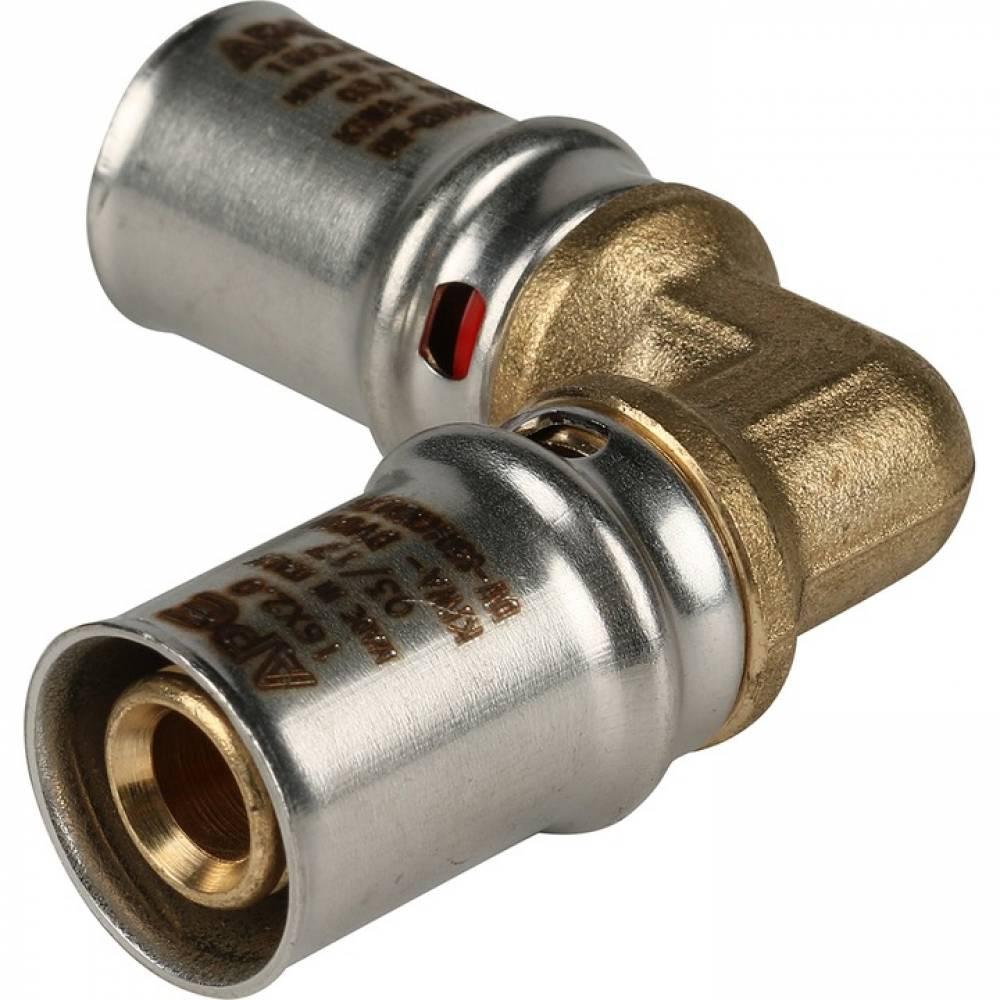 Угольник  90° 16х16 для металлопластиковых труб прессовой