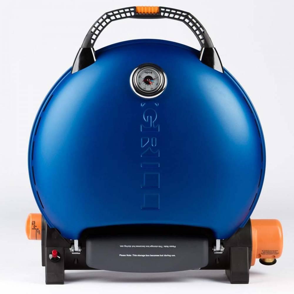 Газовый гриль O-GRILL 700T blue + адаптер А