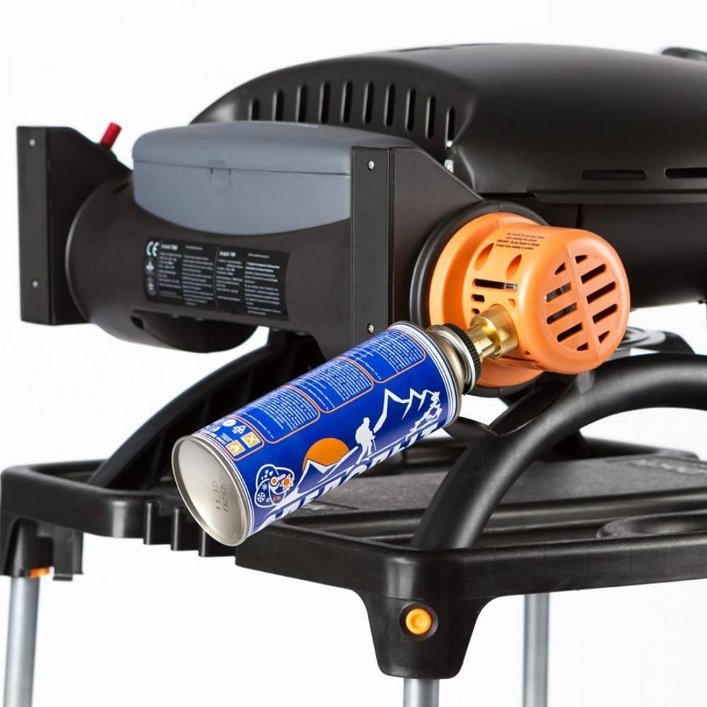Газовый гриль O-GRILL 800T blue + адаптер А