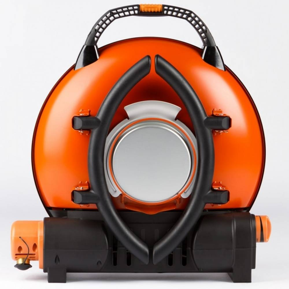 Газовый гриль O-GRILL 800T orange + адаптер А