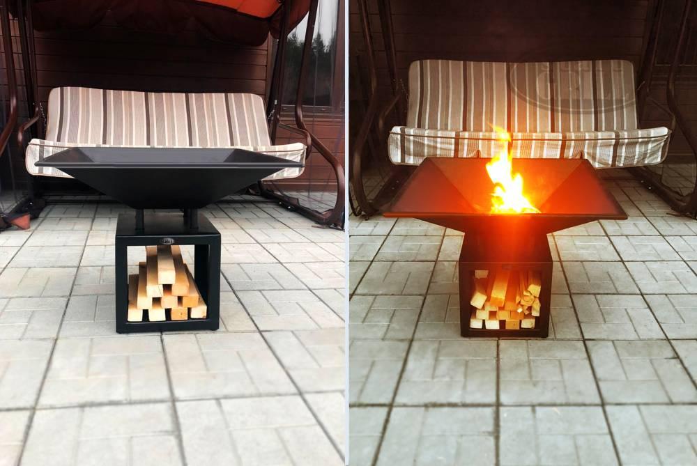 Очаг start grill