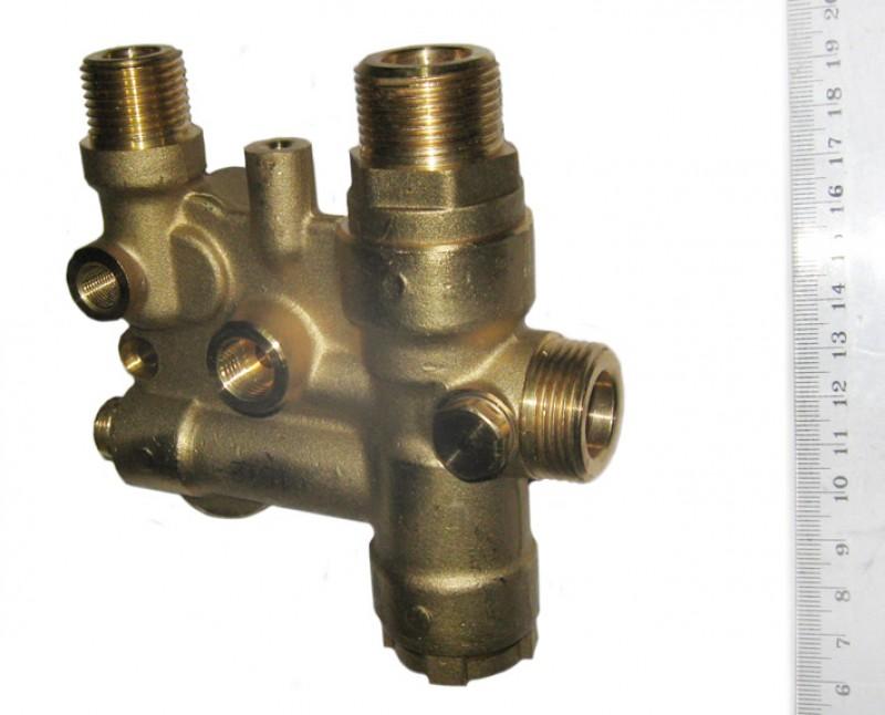 3-ходовой клапан в сборе с байпасным клапаном