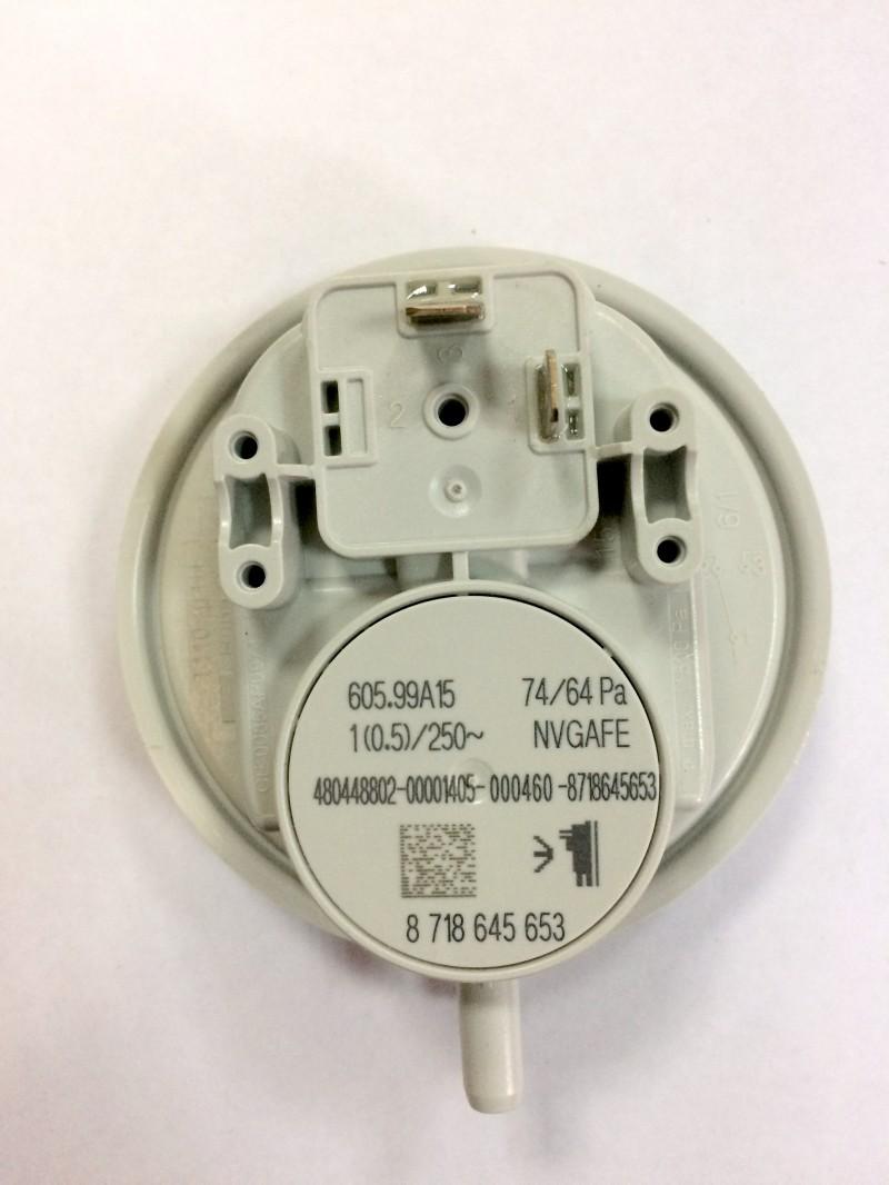 Дифференциальное реле давления WBN6000 W-24C/24H
