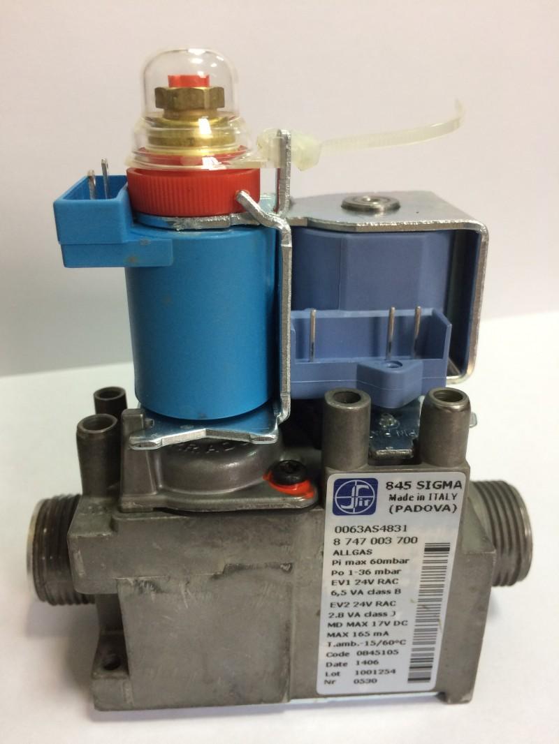 Газовый клапан ZWC-24_35/ZWE-24_28