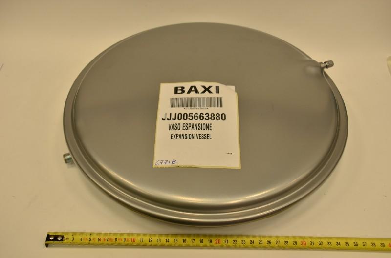 Расширительный бак 8 л (круглый)