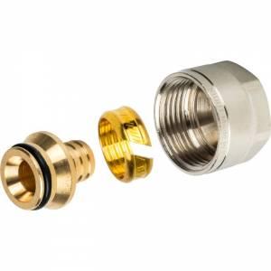 Фитинг компрессионный для труб PEX 16х2,0х1/2