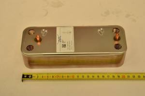 Теплообменник ГВС на 20 пластин Baxi