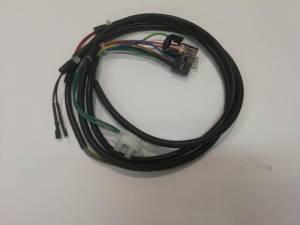 Проводка электрическая до 36 В от разъема А5 к модулятору газового клапана, датчику температуры СО и реле минимального давления газа.