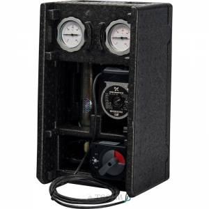 Насосная группа MK смесительная с электронным термостатом и реле с насосом Grundfos UPS 25-60