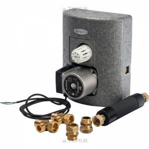 Thermix с электрическим сервоприводом со встроенным термостатом 25-50°С, с насосом UPS 15-50 MBP