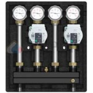 Насосно-смесительный модуль Kombimix 2 UK_UPM3 Hybrid 15-70*