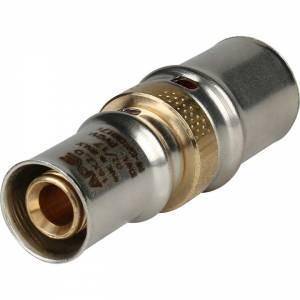 Муфта соединительная переходная 20х16 для металлопластиковых труб прессовой